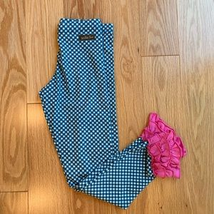 Matilda Jane Strike a Poss Sz 10 Ruffles Leggings